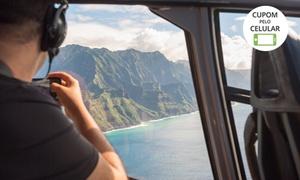 Helicon: Taxi aéreo com helicóptero ida e volta em até 2 horas com a Helicon
