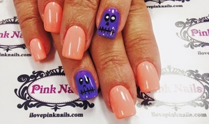 Pink Nails: $22.50 for a Signature Manicure with Take-Home Moisturizers at Pink Nails (Up to 50% Off)