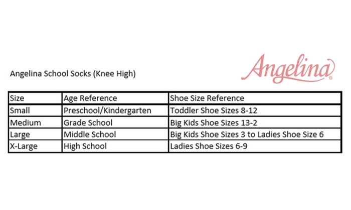 ... Women s and Kids Cotton Uniform Knee-High School Socks (12-Pairs) ... abf63f768213