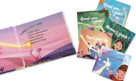 Livre personnalisé pour enfants au choix