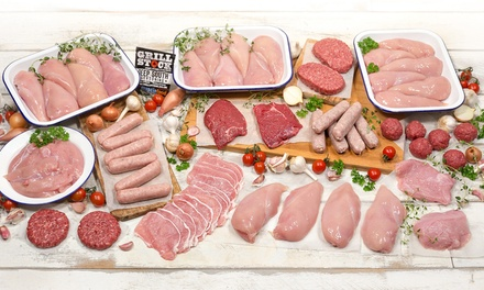 New Year Lean Meat Hampers Groupon