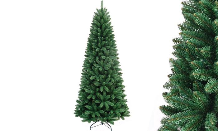 Albero Di Natale Slim 240.Albero Di Natale Pino Delle Meraviglie Modello Slim Disponibile In 5 Dimensioni
