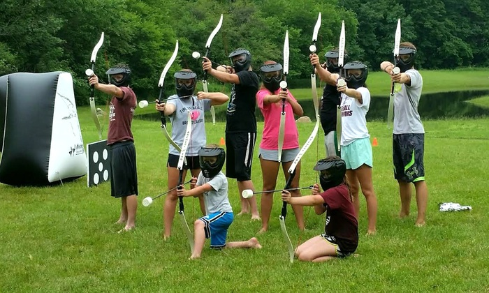 One Hour of Archery Tag for 1, 2, 4, 6, or 12 People at Rugged Adventures (Up to 54% Off)