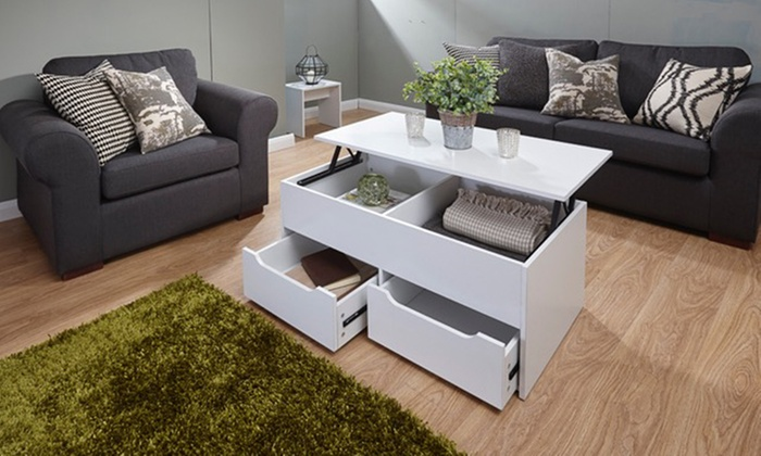 Cuba ultimate coffee table groupon goods Groupon uk living room furniture