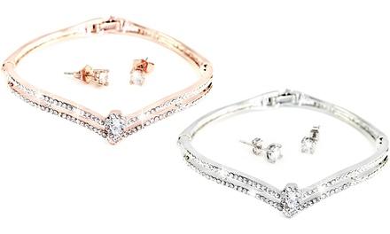 1 o 2 sets de brazalete y pendientes modelo Marilyn