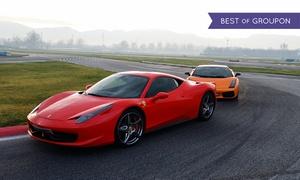 Carschoolbox: Fino a 6 giri in pista su Ferrari, Lamborghini o Porsche con Lusso Experience (sconto fino a 53%). Valido su 5 circuiti