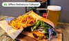 Up to 41% Off Food and Drinks at Smoked Burgers & BBQ