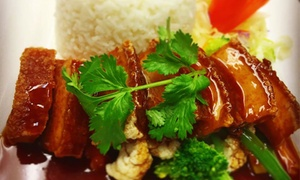 Sairung Thai Restaurant: $15 for $30 or $30 for $60 to Spend on Thai Food and Drinks at Sairung Thai Restaurant