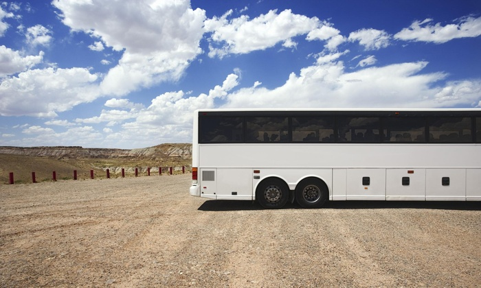 Charter Bus Express - Multiple Locations: $24 for $45 Worth of Bus Transportation — Charter Bus Express