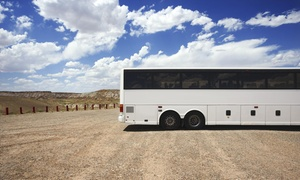 Charter Bus Express: $24 for $45 Worth of Bus Transportation — Charter Bus Express