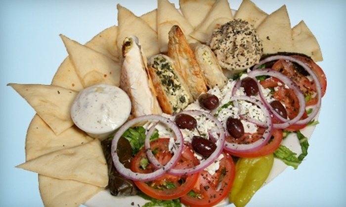 Bucci's Greek & Italian Specialties - Centennial: Greek and Italian Cuisine at Bucci's Greek & Italian Specialties (Half Off). Two Options Available