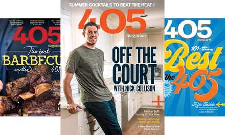 One- or Two-Year Subscription to 405 Magazine (Up to 53% Off)