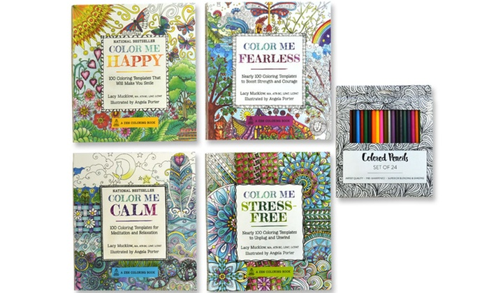 color me happy and color me fearless adult coloring books color me happy and color - Color Me Books