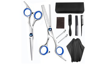 9-Piece Hair Cutting Scissors Set