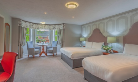 groupon.co.uk - 1-3 Nights Family City Offer for 2 Adults and 2 Children with Breakfast, Dinner and Treats at Malone Lodge Hotel