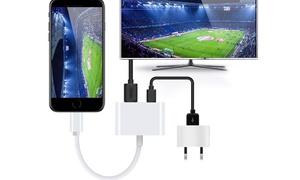1 ou 2 adaptateurs HDMI et Lightning®