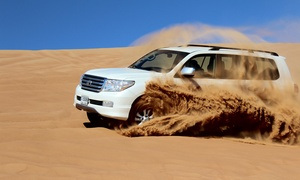 Bright Tourism : Desert Safari for One Child or Up to Six People with Optional Pick-Up (Up to 59% Off)