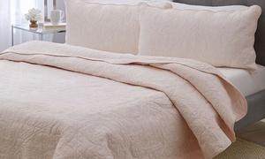 Cozy Home Cotton Classic Quilt Set (3-Piece)