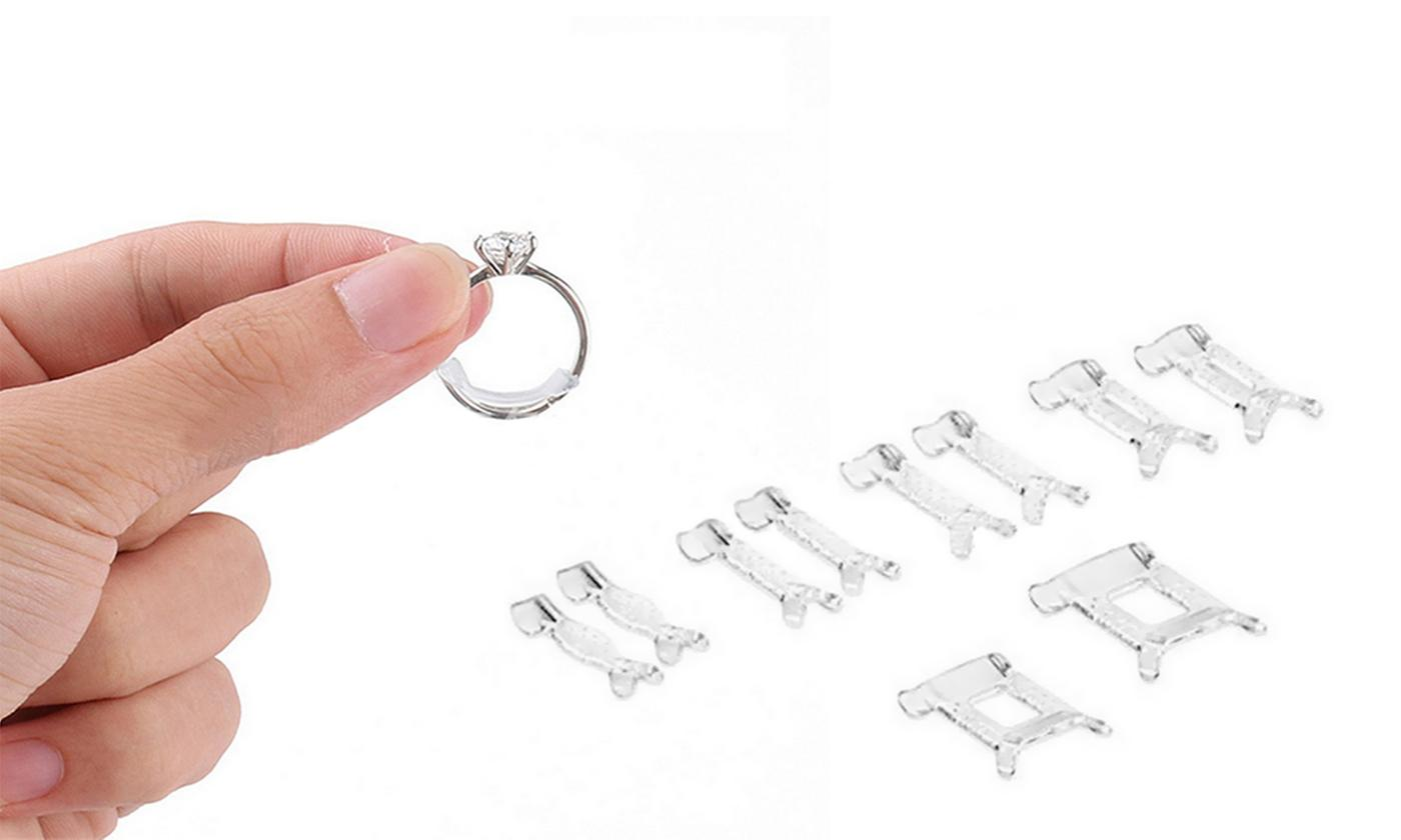 12-Pack of Ring Size Adjuster