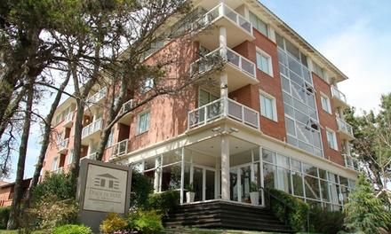 Cariló: desde $1599 por 2, 3 o 4 noches para dos + desayuno + spa + feriados + coffee break en Dock de Mar Hotel Spa