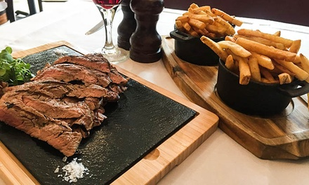 Three-Course Steak Meal for Two at Waterloo Bar & Kitchen (Up to 53% Off)