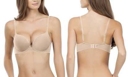 21f3265a14a Shop Groupon Affinitas Allison Super Push-Up Bra (32A to 38D Cup Sizes)