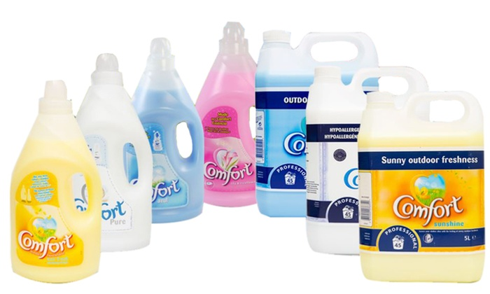 4L, 5L or 8L of Comfort Fabric Softener from £7.98