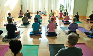 Yoga Space: 5 or 10 Yoga Classes at Yoga Space (Up to 62% Off)