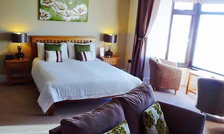 Ceredigion: 2 Nights for Two with Breakfast and Dinner Credit at The Gwbert Hotel