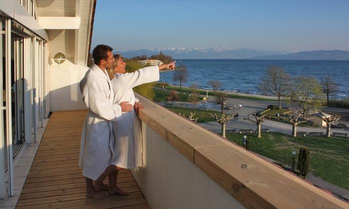Seehotel Litz - Seehotel Litz: Bodensee: 3-6 Tage für Zwei inkl. Frühstück, 1x Dinner und Wellness im 4* Seehotel Litz in Langenargen