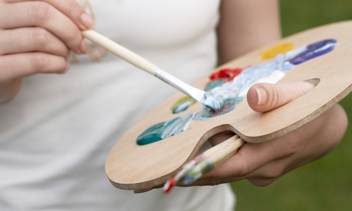 Creative Expressions Art Studio - Creative Expressions: Three-Hour BYOB Painting Class for Two or Four at Creative Expressions Art Studio (Up to 71% Off)