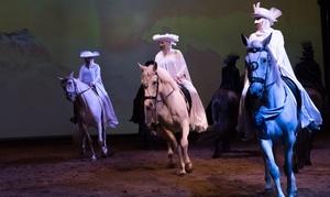 Les Opéras Équestres du Québec: Spectacle équestre au choix pour 1 ou 2 personnes avec option VIP au Parc Cavaland (jusqu'à 57 % de rabais)