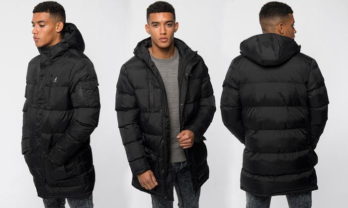 0fbb8ca96 Kangol Baiton Long Puffer Jacket | Groupon