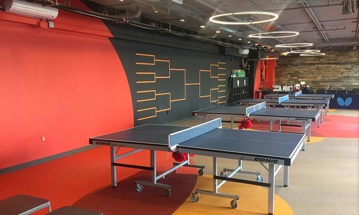 Table Tennis Club New York Ny Groupon