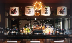 Asian Fin Restaurant: Asian-Fusion Dinner and Drinks at Asian Fin Restaurant (Up to 45% Off). Two Options Available.