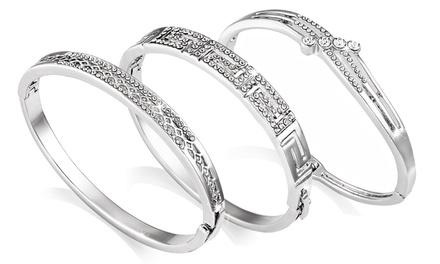 Bracelets au choix Philip Jones ornés de cristaux Swarovski®