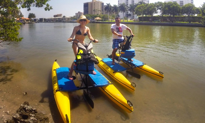 Florida Hydrobike - North Naples: Weekday or Weekend Hydrobike Tour from Florida HydroBike (Up to 42% Off)