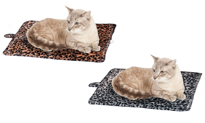 Purrfect Thermal Self-Heating Pet Bed