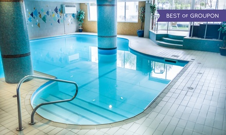Bournemouth: 1 or 2 Nights for Two with Breakfast, Leisure Access, Drink, Cake and Optional Dinner at The Suncliff Hotel