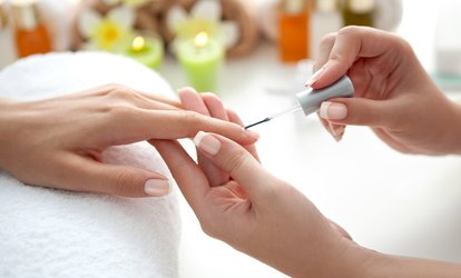 image for Nail Services at Elite Hair Studio and Spa (Up to 64% Off). Three Options Available.