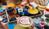 FLP: An Interactive Art Affair - Location: 3-Hour BYOB Popcorn and Paint for Two, Four, or Six at FLP: The ART eXperience (Up to 59% Off)