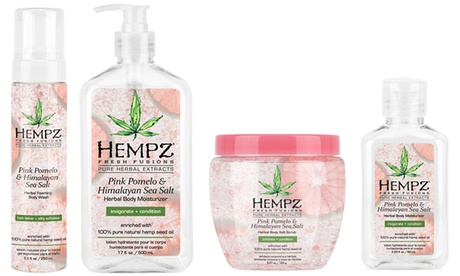 Hempz Fresh Fusions Pink Pomelo and Himalayan Sea Salt Summer Bath and Body Collection 050446b6-6514-11e8-8cea-00259069d7cc