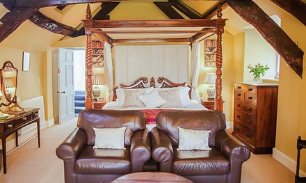 Snowdonia: 1- or 2-Night Country House Stay for Two with Breakfast and Afternoon Tea at Plas Tan-Yr-Allt