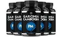 Angry Supplements Garcinia Cambogia PM with Melatonin (5-Pack)