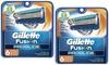 Gillette Fusion ProGlide Razor Replacement Cartridge (6- or 12-Count): Gillette Fusion ProGlide Manual Razor Replacement Cartridge (6- or 12-Count)