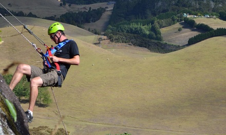 3-Hour Abseiling Experience for One ($45) or Four ($168) with Jump Off A Cliff (Up to $320 Value)