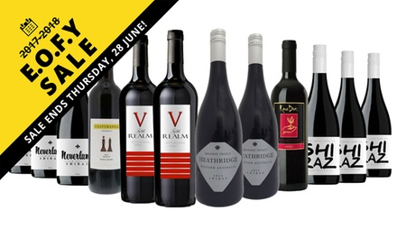 EOFYS: $69 for an Avid Shiraz Lovers 12-Pack Mixed Wine Case (Don't Pay $249.00)