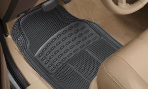 4 tapis Waterproofs antidérapants