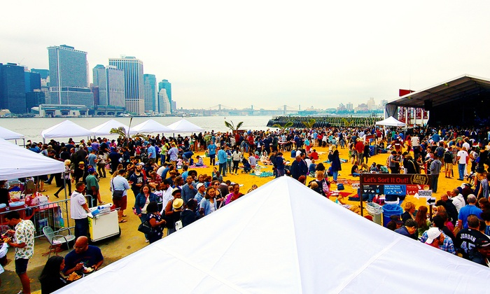 CEG Presents - Governor's Club: Governors Island Seafood & Music Beach Party on August 22 (Up to 21% Off)