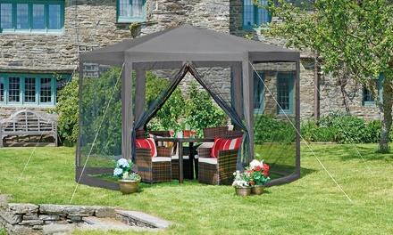 Tonnelle de jardin avec LED solaire intégrée, modèle et ...